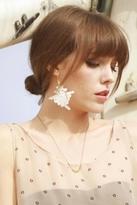 Luella Hard Couture Crochet Earrings in Lace
