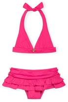 Juicy Couture Baby - Girl's Port Stripe Halter Bikini - Siren Multi