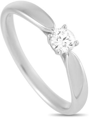 Heritage Tiffany & Co. Tiffany & Co. Platinum 0.22 Ct. Tw. Diamond Engagement Ring