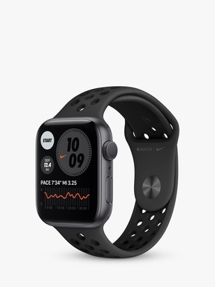 Apple Watch Nike Series 6 GPS, 44mm Space Grey Aluminium Case with Anthracite/Black Nike Sport Band - Regular