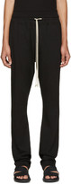 Rick Owens Black Jersey Berlin Lounge Pants