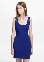 Mango Outlet Fitted Dress
