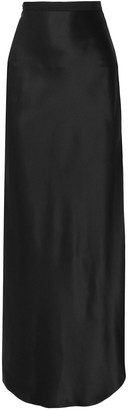 Nili Lotan Azalea Silk-satin Maxi Skirt