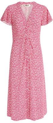 Dvf Diane Von Furstenberg Cecilia Printed Midi Dress