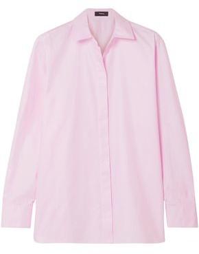 Theory Cotton-poplin Shirt