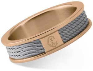 Charriol Women's Forever Two-Tone Pvd Stainless Steel Cable Ring