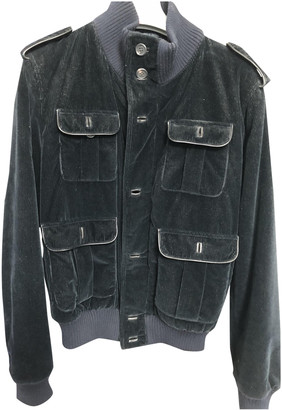 Prada Black Velvet Jackets