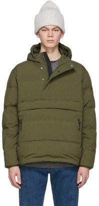 The Very Warm Green Anorak Puffer Jacket