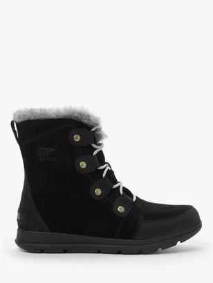 Sorel Explorer Joan Snow Boots, Black
