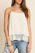 Umgee USA Double Layered Tank Top