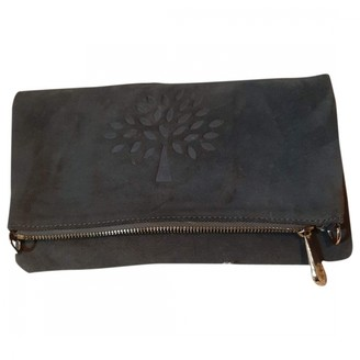 Mulberry Grey Suede Clutch bags