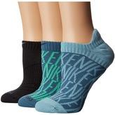Nike Dri-Fit Cushion Graphic No-Show Training Socks 3-Pair Pack Women's No Show Socks Shoes