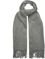 Acne Studios Canada wool fringed scarf