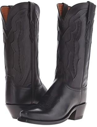 Lucchese Grace (Black) Cowboy Boots