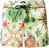 Versace printed swim shorts