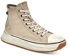 AllSaints Men's Blakely Suede High-Top Sneakers