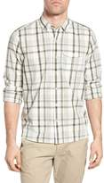 Michael Bastian Long Sleeve Pocket Plaid Shirt