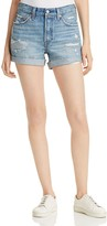 Levi's 501 Cuffed Shorts in Highway Blues