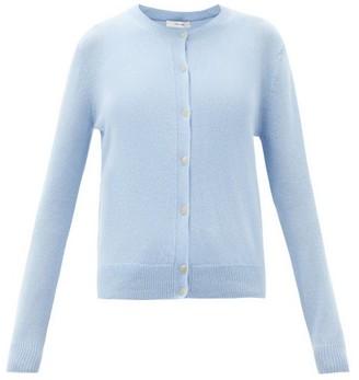 The Row Annamaria Round-neck Cashmere Cardigan - Light Blue