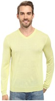 Calvin Klein Solid Merino V-Neck Sweater