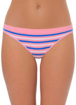 Design Lab Lord & Taylor Striped Thong Panty