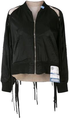 Maison Mihara Yasuhiro Zipped Bomber Jacket