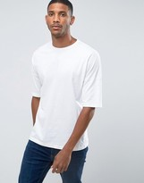 Benetton Oversized Drop Shoulder T-shirt