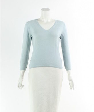 Loro Piana Blue Cashmere Knitwear for Women