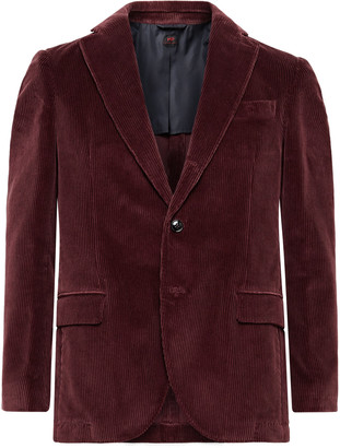 Mp Massimo Piombo Cotton-Corduroy Blazer