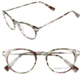 Derek Lam Women's 48Mm Optical Glasses - Dark Grey