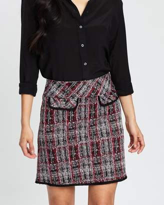 Dorothy Perkins Jacquard Mini Skirt