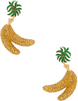 Dolce & Gabbana Banana Earrings