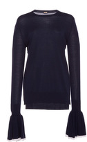 ADAM by Adam Lippes Merino Wool Oversized Ribbed Pullover