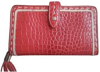 Lancel 1er Flirt Red Leather Wallets