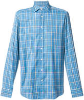 Etro micro houndstooth shirt