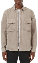 Topman Men's Utility Pocket Shirt