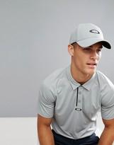 Oakley Golf Ellipse Logo Baseball Cap In Grey