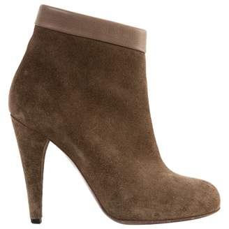 Isabel Marant \N Khaki Suede Boots
