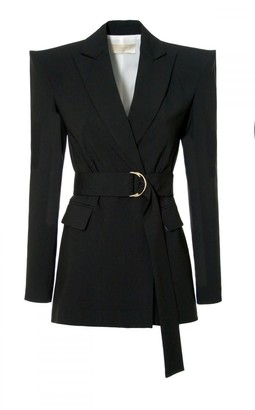 Aggi Marina Neutral Black Blazer