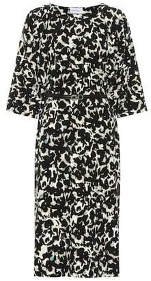 Salvatore Ferragamo Printed silk dress