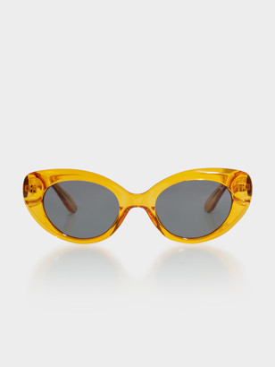 Bond Eye Campbell Sunglasses in Transparent Ale