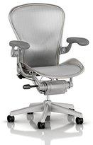 Herman Miller Classic Aeron Task Chair: Highly Adj w/PostureFit Support - Tilit Limiter w/Seat Angle Adj - Fully Adj Vinyl Arms - Carpet Casters