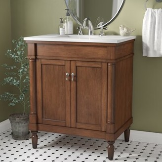 "Andover Mills Brantley 30"" Single Bathroom Vanity Set"