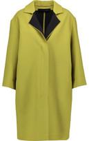 Roland Mouret Paddington Wool-Gauze Coat