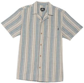 O'Neill Cosmo Short Sleeve Stripe Standard Fit Shirt