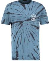 Quiksilver Off The Block Print Tshirt Blue
