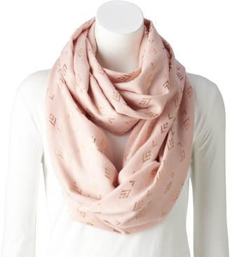Women's Style Collective Diamond Geo Loop Scarf