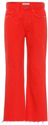 GRLFRND Linda high-rise wide-leg jeans