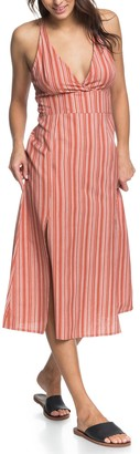 Roxy Young Goddess Stripe Sundress