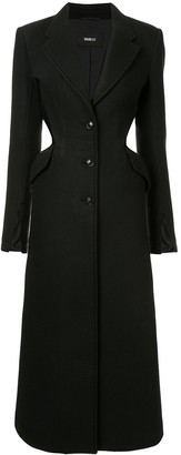 Yang Li Tailored Cut-Out Coat